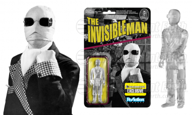 The Invisible Man ReAction Figure – Catch Him If You Can!