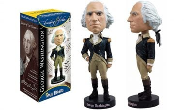 George Washington Bobble Head