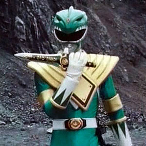 Mighty Morphin Power Rangers Legacy Green Dragon Dagger