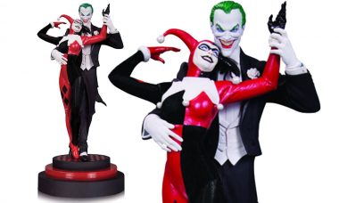 12 Inch Dastardly Duo Joker and Harley Quinn Statue