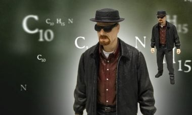 Heisenberg Deals in Style as a 12 Inch Action Figure