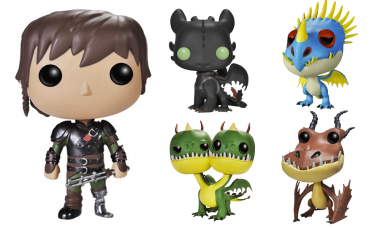 How To Train Your Dragon 2 Spreads Wings as Pop! and Mystery Minis