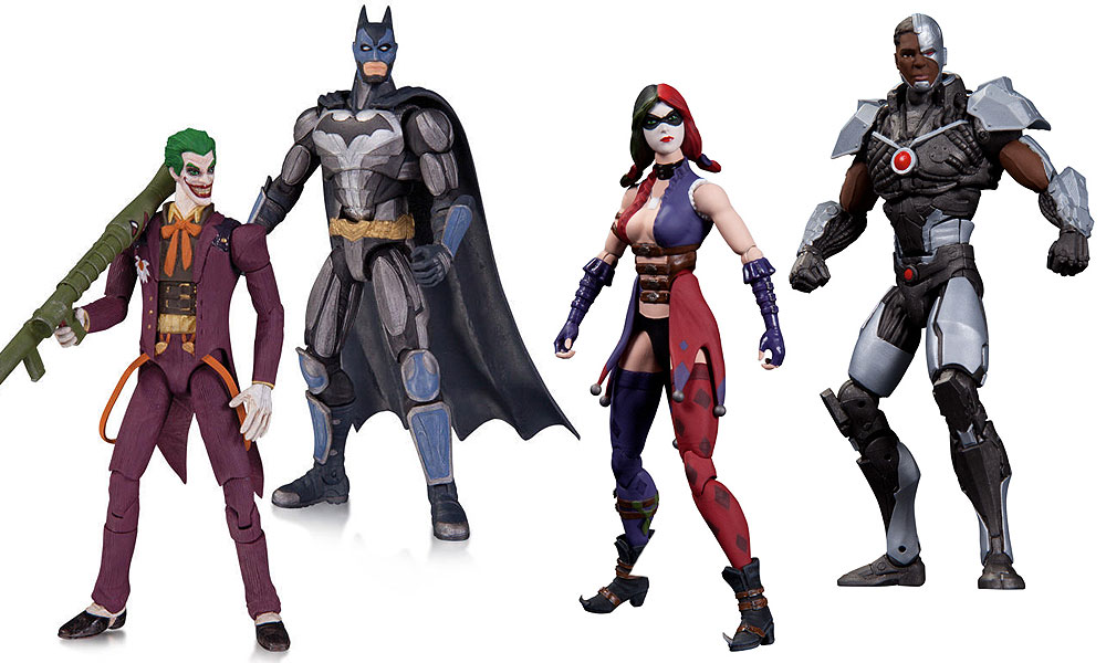 Toys For Injustice : Battle in real life with injustice gods among us figures