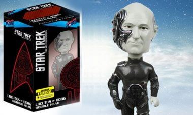Star Trek: The Next Generation Locutus of Borg Bobble Head