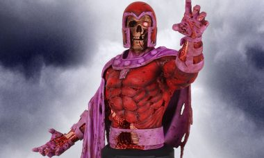 Zombie Magneto is the Master of Magnetism