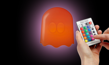 Brighten Your Room with the Pac-Man Ghost Lamp
