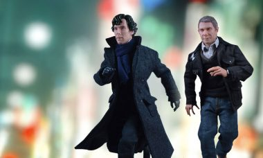 Solve Crimes with these Sherlock Action Figures