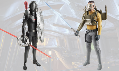 Star Wars Rebels Hero Series 12-Inch Mission Figures