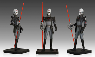 Quash the Rebellion with the Inquisitor Maquette Statue