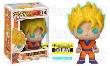 Kamehameha! Exclusive Super Saiyan Goku Pop! Vinyl