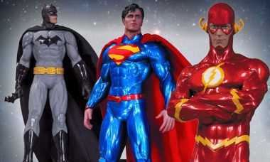 Save the Day with DC Comics Icons Statues