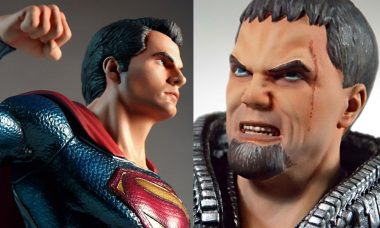 Superman & General Zod Pre-Assembled Resin Model Kits