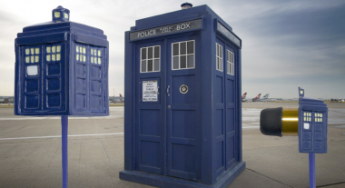 Louder on the Inside with TARDIS Earbuds