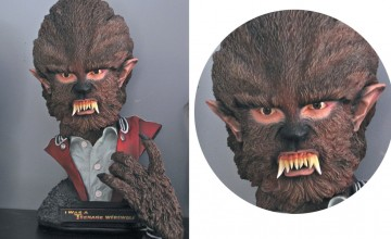 I Was a Teenage Werewolf Bust