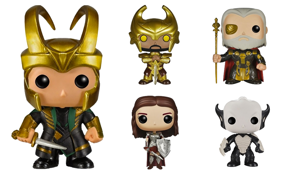 Thor: The Dark World Pop! Vinyl Figures