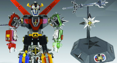 Voltron 30th Anniversary Die-Cast Light-Up Action Figure