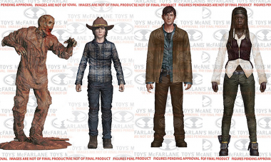 Fight the Dead With Walking Dead TV Series 7 Action Figures