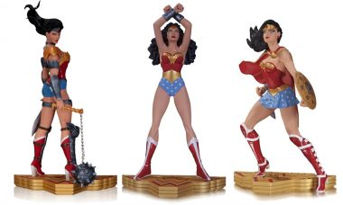 Wonder Woman Art of War Statue Series