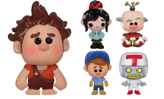 Smash The Game World Open With Wreck It Ralph Pop Vinyls