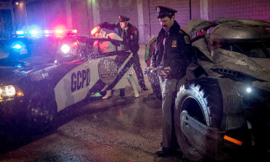 Batman v Superman: Stormtrooper Arrested Next To Batmobile