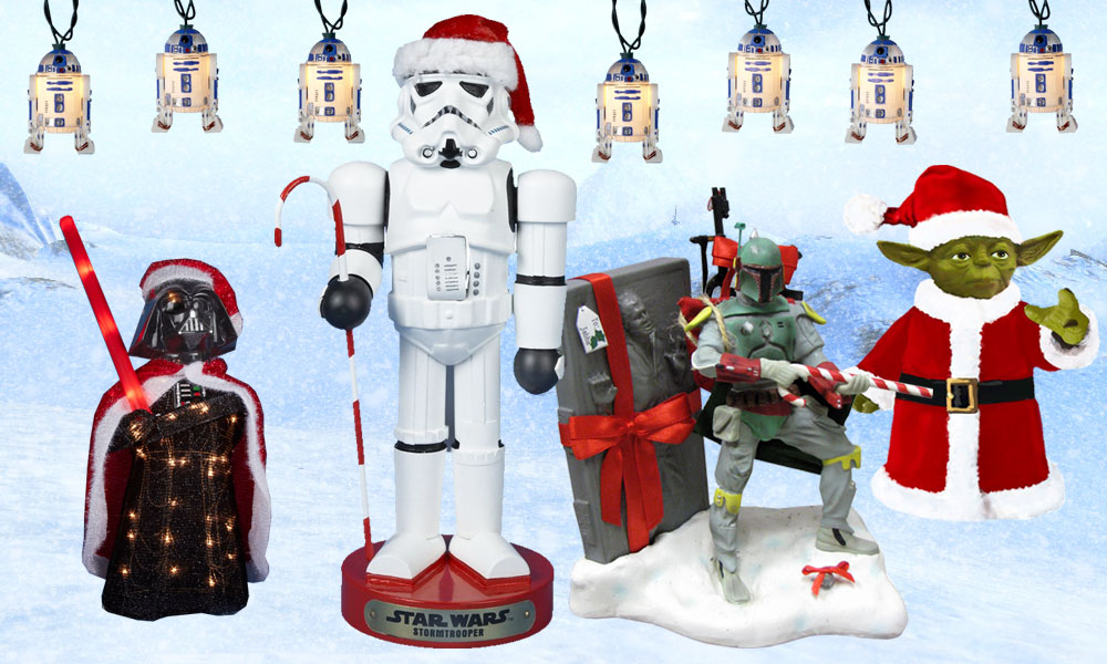 My 5 favorite star wars christmas decorations for Star wars dekoration