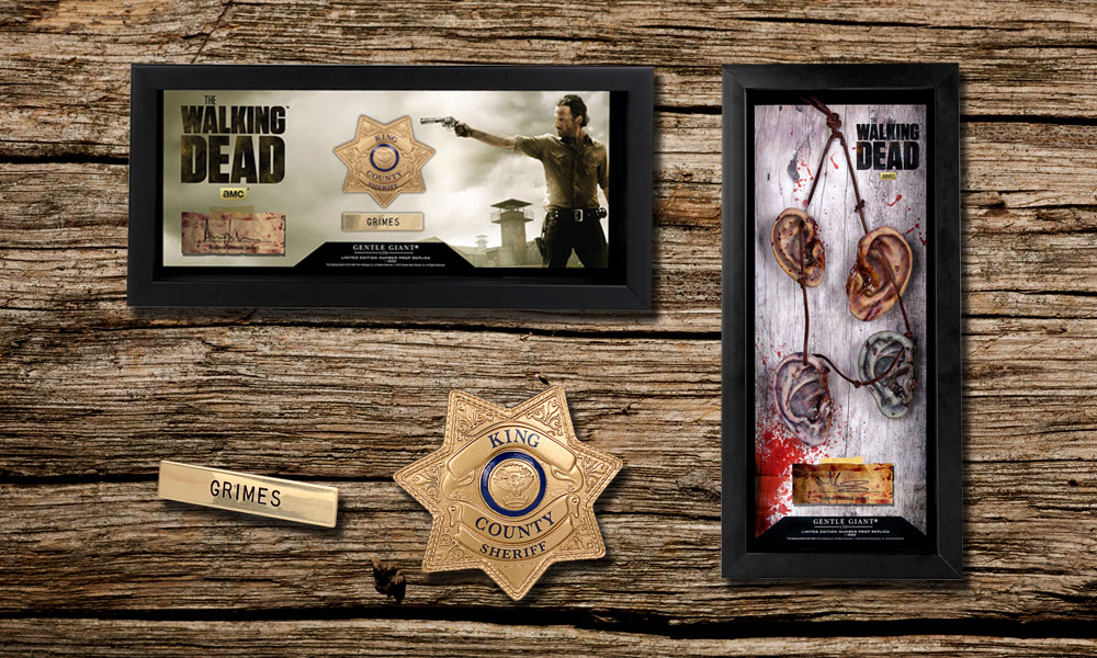 Hunt or Be Hunted with Walking Dead Prop Replicas