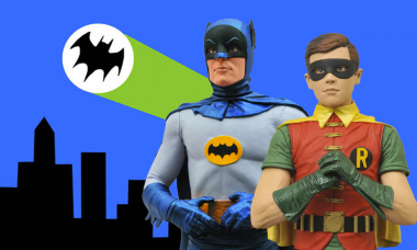 1966 Batman TV Series Comes to Life as Spectacular Busts
