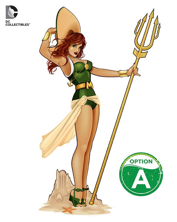 Aquaman S Mera Joins Dc Bombshells Statue Line