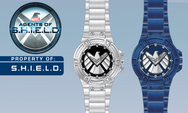 SHIELD Silver Watch Keeps Time During Top Secret Missions