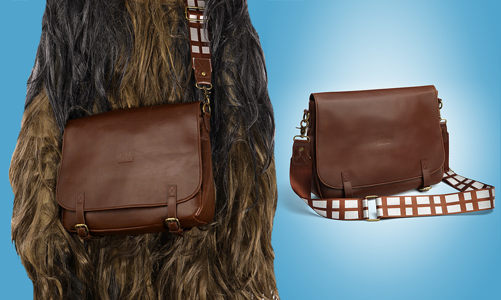 Star Wars Chewbacca Messenger Bag Adds Flair To Your Day