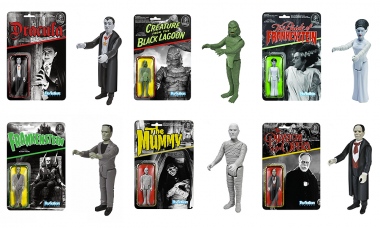 Reminisce with Classic Universal Monsters ReAction Figures