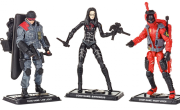 G.I. Joe 5oth Anniversary Action Figures