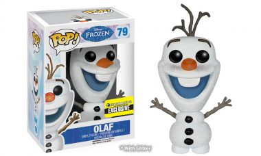 Get the Exclusive Glitter Olaf the Snowman Pop! Before He Melts Away
