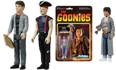 Goonies ReAction Figures Find Treacherous Maps and Hidden Treasures