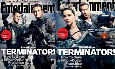 First Official Look at Terminator: Genisys on the Cover of EW
