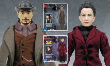 Penny Dreadful Ethan Chandler and Vanessa Ives Action Figures