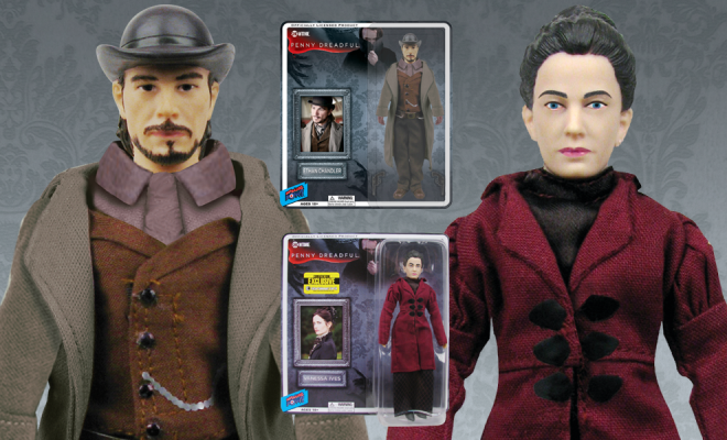 Penny Dreadful Ethan Chandler Amp Vanessa Ives Action Figures