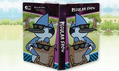 Regular Show Mordecai and Rigby Journal from Bif Bang Pow!