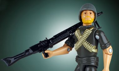 Recruit Your Own G.I. Joe Rock N Roll Jumbo Figure