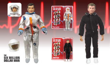 Six Million Dollar Man Steve Austin and Barney Hiller Figures
