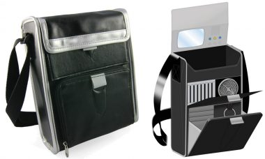 Serve the Federation with the Star Trek Tricorder Messenger Bag