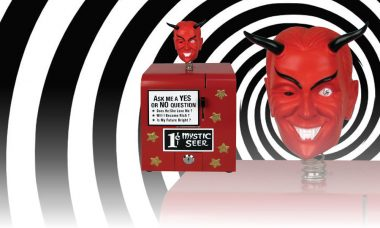 Let The Twilight Zone Mystic Seer Replica Tell Your Fortune
