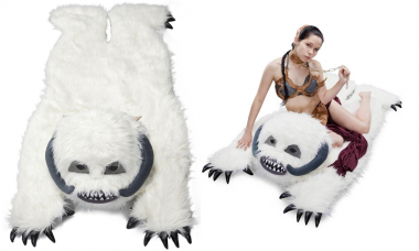 Wampa Plush Throw Rug Can Keep You Warm on Hoth