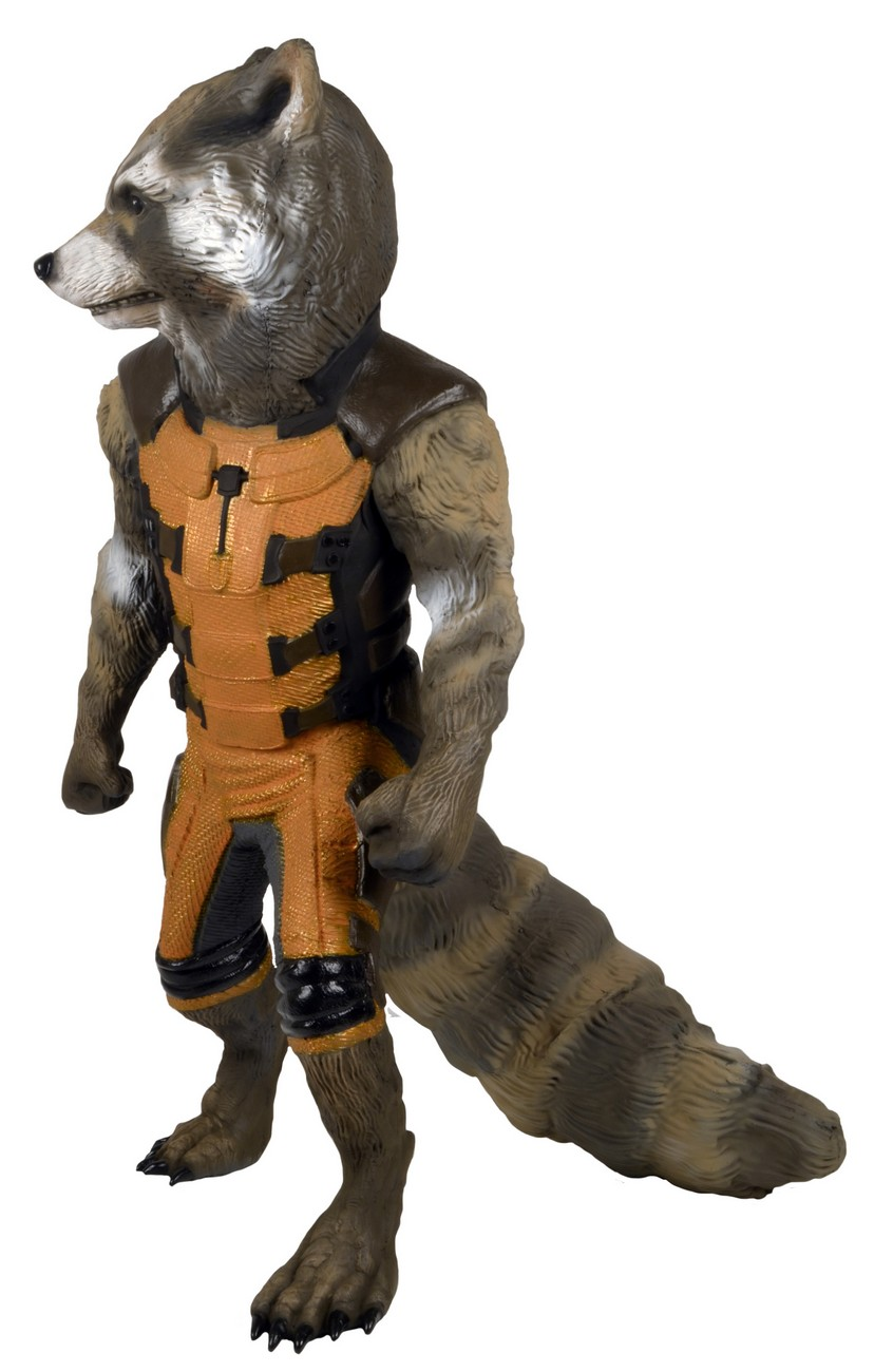Pint Size Rocket Raccoon Becomes Life Size Statue