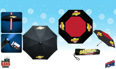 New and In Stock: The Big Bang Theory BAZINGA!™ Umbrellas