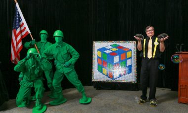 We Salute the Rubik's Cube, Bubbles, and Green Army Men as They Join Toy Hall of Fame