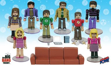 All-New The Big Bang Theory Minimates from Bif Bang Pow!