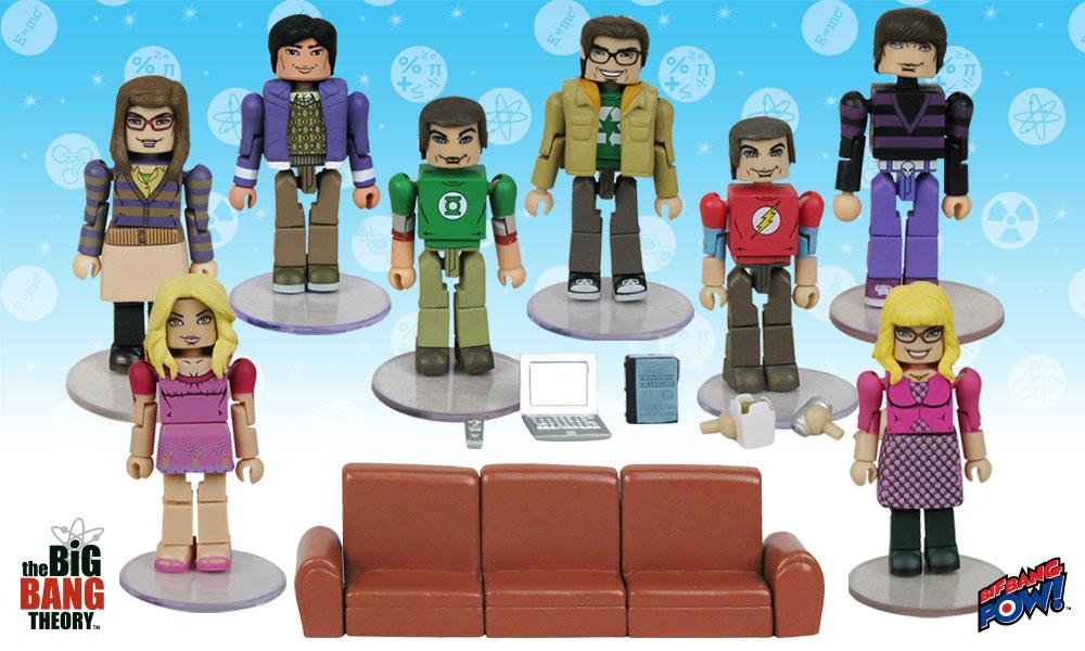 All New The Big Bang Theory Minimates From Bif Bang Pow