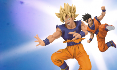 These Dragon Ball Z Statues Are Going Super-Saiyan