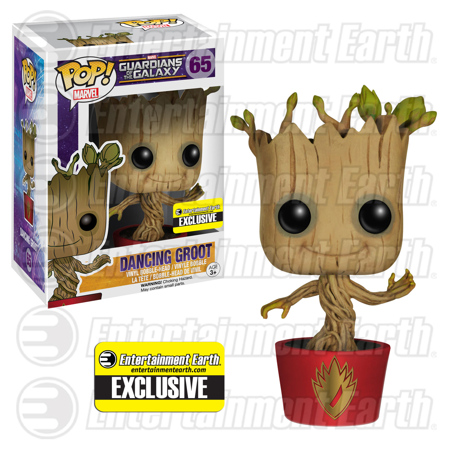Dancing Groot Pop! Vinyl Bobble-Head